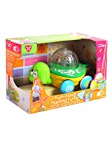 Play Go Flashing Turtle Battery Operated, Multi Color