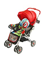Sunbaby Stroller Jungle Collection (Red)