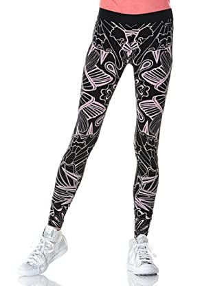55DSL Leggings Peggings (Schwarz/Rosa)