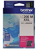 Brother LC20EM Super High Yield Magenta Ink Cartridge