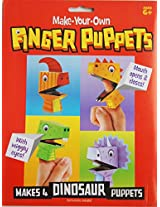 My Party Suppliers Make Your Own Finger Puppets / Finger Puppets Kraft for Children / Birthday Gift finger Puppets