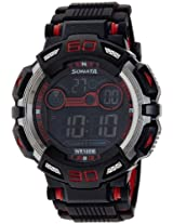 Sonata Ocean Series II Digital Black Dial Men's Watch - 77009PP01J
