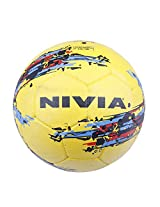 Nivia Storm Football, Size 5 (Yellow)