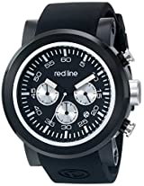 red line Men's RL-50050-BB-01-SA Torque Sport Analog Display Japanese Quartz Black Watch