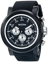 red line Men's RL-50050-BB-01-SA Torque Sport Analog Display Japanese Quartz Black Watch