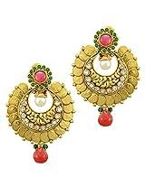 Ethnic Indian Bollywood Jewelry Set Traditional Fashion Imitation EarringsCHEA0216MG