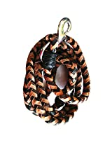 Merapuppy Imported Leather Rope Leash For Medium & Regular Dogs