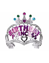 Birthday Princess Silver Tiara