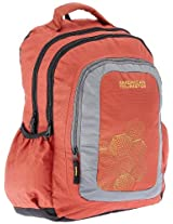 American Tourister Code Red and Grey Casual Backpack (R51 (0) 80 004)