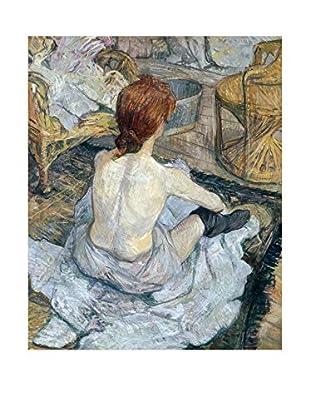 Legendarte Lienzo La Toilette di Henri de Toulouse-Lautrec