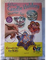 Creativity For Kids Glass Candle Holder Arts And Crafts Kit