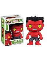 Red Hulk: ~4 Funko POP! Marvel Vinyl Bobble-Head Figure