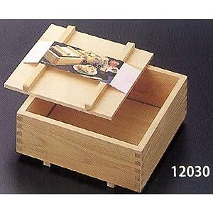 【クリックで詳細表示】箱寿司器(木曽桧)30cm 12030: ホーム&キッチン