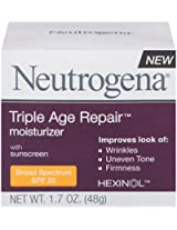 Neutrogena Triple Age Repair Moisturizer Broad Spectrum SPF 25, 1.7 Ounce