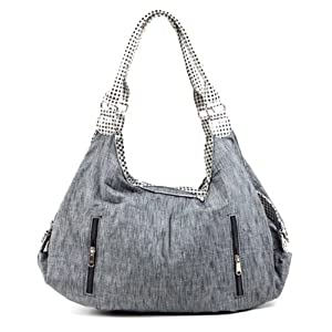 Imac Gray Handbag