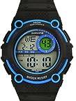 Sonata Digital Black Dial Men's Watch - 77004PP03J