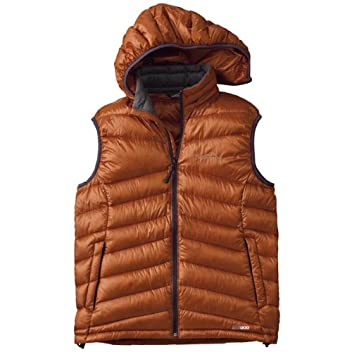900 Fill Power Chevron Quilt Down Vest 677559: Terra Cotta