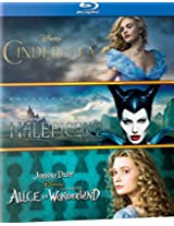 Alice in Wonderland, Cinderella, & Maleficent (Box Set)