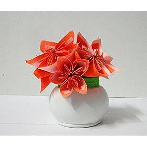 Cherish-a-Design Fabulous Paper Flowers with vase