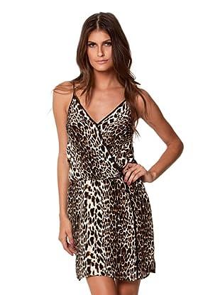 Vix Women's Congo Rachel Dress (Leopard/Black)