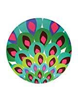 French Bull - Melamine Serving Platter - 15-1/2-Inch Round Serving Tray - for Indoor and Outdoor Entertaining - Gala