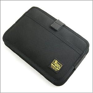 バンナイズ iPad mini ( アイパッド ) 用 と モレスキン A5ノート メモ など が 同時 に 入る iPad mini ( アイパッド ) 用 薄型 キャリング ケース / 横型 ( バリスティック ナイロン製 / ブラック )