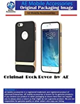 AE ROCK Royce Series Shockproof Dual Layer Back Case Cover for Apple iPhone 5 5S GOLD