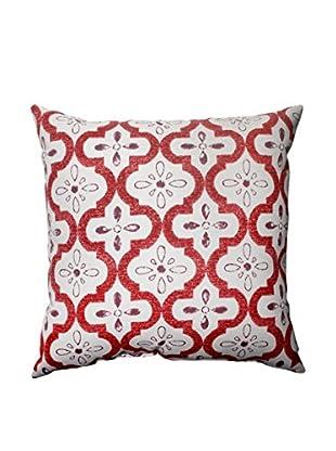Conservatory Berry Indoor/Outdoor Throw Pillow