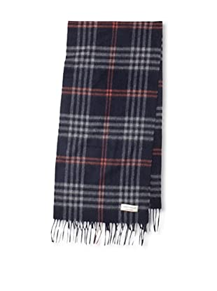 Joseph Abboud Men's Plaid Scarf (Navy)