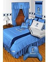 NCAA North Carolina Tar Heels Football 5pc Twin Bedding Set