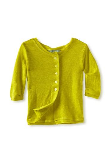 Zolima Girls Cardigan (Lemon)
