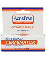 AcneFree Acne and Blackhead Terminator (.75 Ounce Tube)