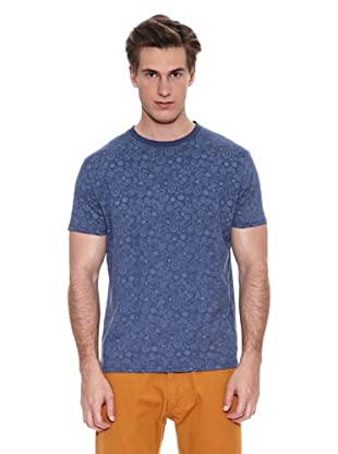 Springfield Camiseta E2 All Over Pasley (Azul)