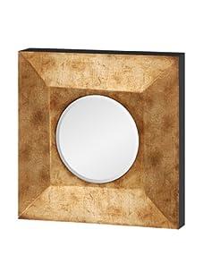 Mercana Sybil II Convex Mirror, Gold Metallic