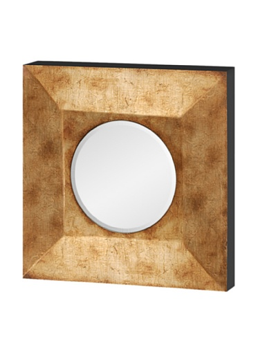 Mercana Décor Sybil II Convex Mirror, Gold Metallic