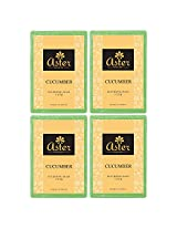 Aster Luxury Cucumber Handmade Soap 125g - Pack of 4