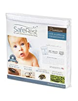 SafeRest Hypoallergenic Waterproof Certified Bed Bug Proof Crib Mattress Encasement - Vinyl, PVC and Phthalate...