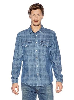 Lee Camisa  Altay (Azul)