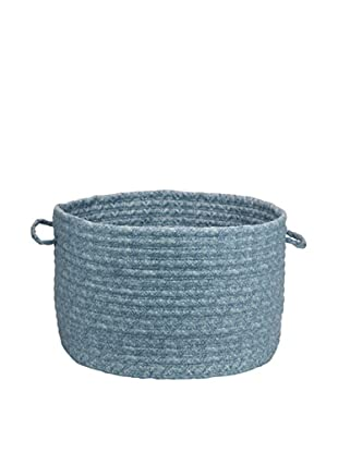 Colonial Mills Solid Fabric Print Basket (Pale Blue)
