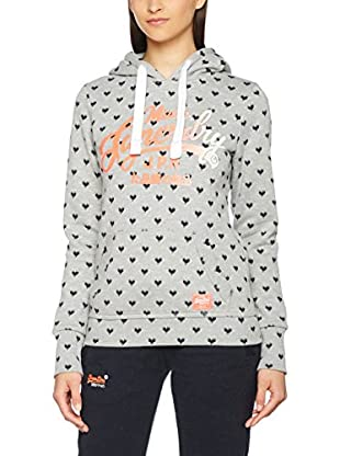 Superdry Kapuzensweatshirt Super Co Aop Entry-Hood
