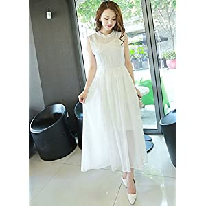 Onlyurs Single Colour Slim Fit Chiffon Dress