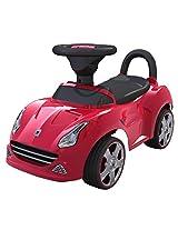 EZ' PLAYMATES BABY RIDE ON SEDAN CAR RED