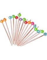 Ramani Packaging Wooden Tooth Pick, 100 Pieces, Brown