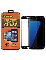 Adoniss Premium Curved Tempered Glass Screen Protector For Samsung Galaxy S7 edge Black