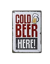 Imported 20x30cm Vintage Metal Tin Sign Plaque Wall Art Poster Cafe Bar Pub Beer #6