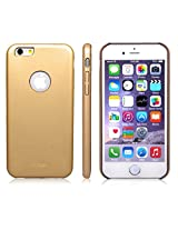 AirPlus AirCase 1mm Slim Case Leather Feel with Apple Cut Out for iPhone 6[GOLD]