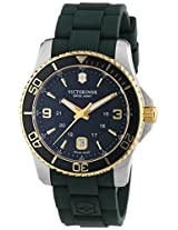 Victorinox Men's 241606 Maverick Dark Green Stainless Steel Watch
