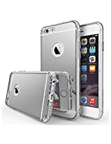 iPhone 6S / 6 Case, Ringke® [FUSION - Mirror] Luxury Mirror Back Shock-Absorption TPU Bumper Anti-Scratch Bright Reflection Protective Case + Free Screen Protector for Apple iPhone 6S (2015)/ 6 (2014)