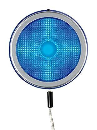 SEGNO Lámpara De Mesa Led Disko Cell 3W Rgb Ip41 Acero/Transparente
