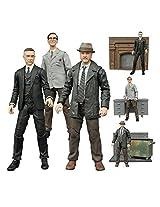 Diamond Select Gotham Tv Series Alfred Pennyworth, Edward Nygma, Harvey Bullock Action Figures Set Of 3